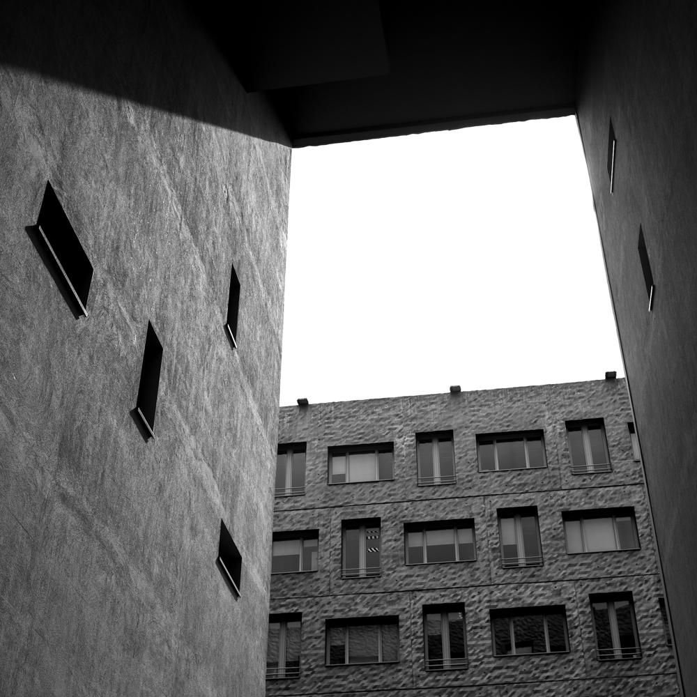 quartier des confluence Lyon Baptiste Gamby Photographe spécialisé Architecture Auvergne-Rhône-Alpes