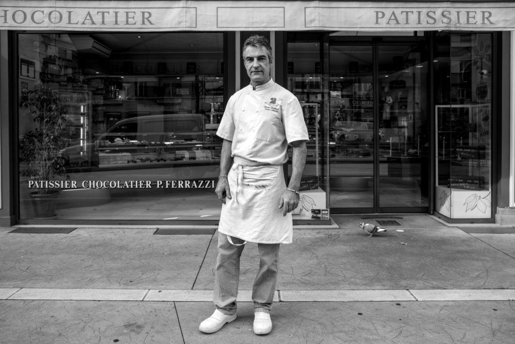Portrait de Ferrazzi Pascal Patissier Baptiste Gamby Photographe Grenoble