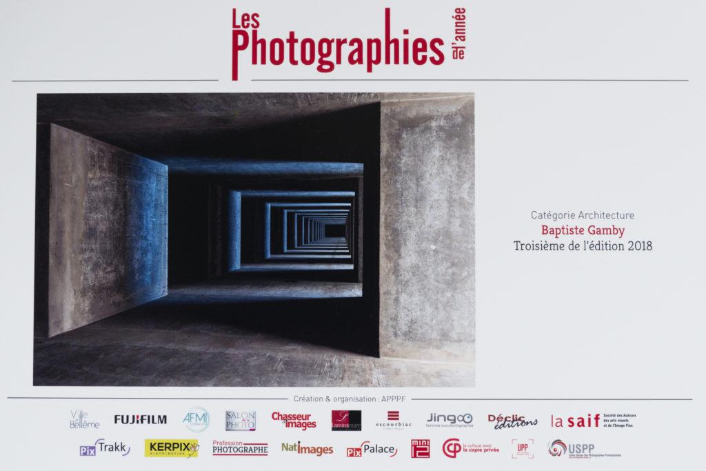 Les photographies de l'année 2018 finaliste architecture Baptiste Gamby