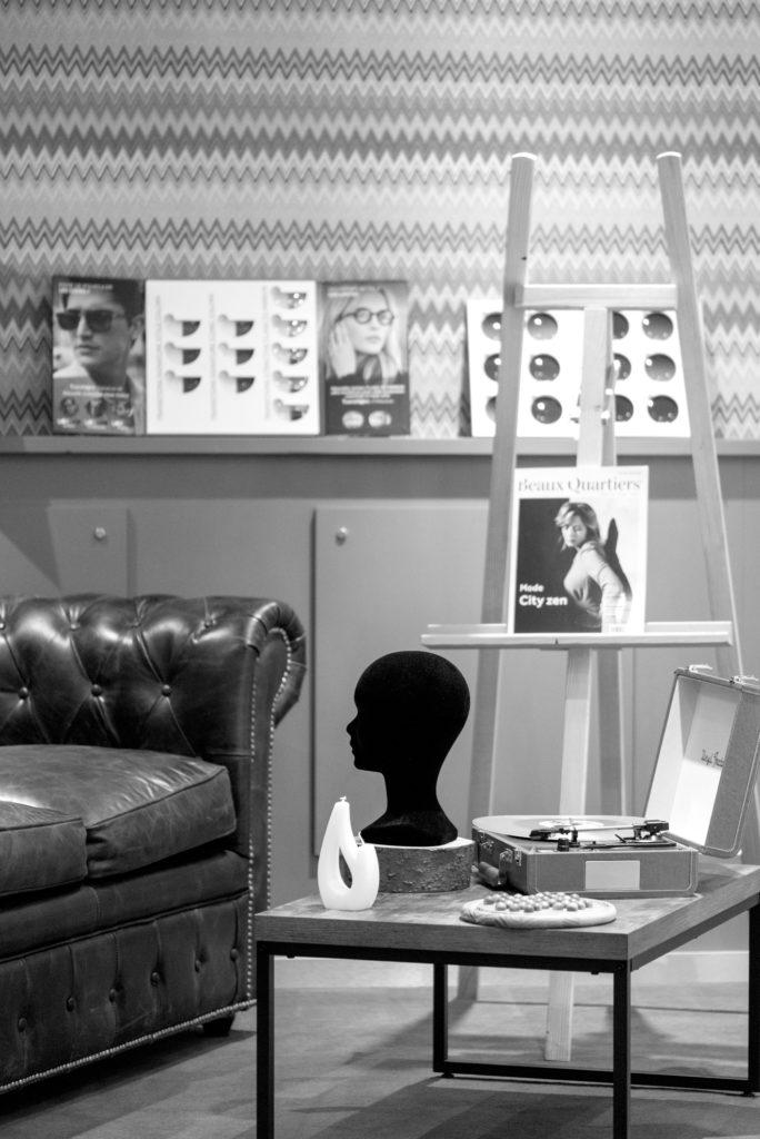 Le Salon Opticien Place Championnet , Grenoble, Baptiste Gamby Photographe Grenoble, Portraits, reportage