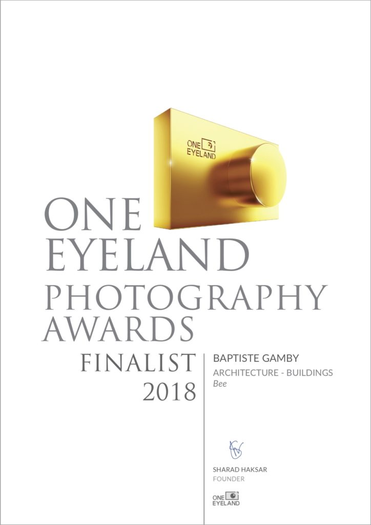 one eyeland photographies award 2018 Architecture Baptiste gamby Photographe grenoble  spécialisé dans l'architecture et la photographie d'art