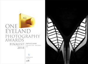 one eyeland photography awards 2018 BEE Baptiste gamby Photographe Grenoble Spécialiste architecture