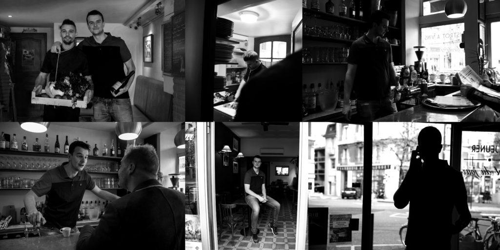 Au détour place championnet Baptiste Gamby Photographe Grenoble reportage photo